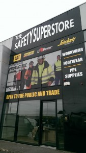 safety superstore - contra - raised letter