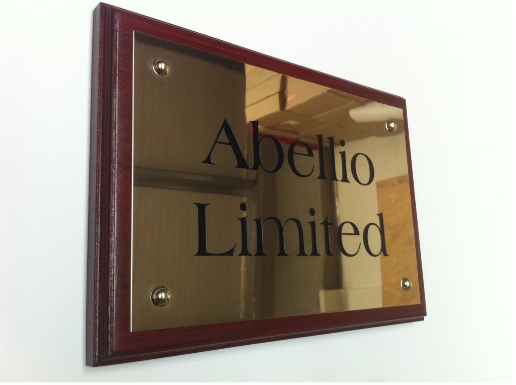 Name plates for businesses brass acrylic steel for Door name signs