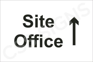 Site Office Straight Sign