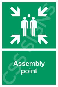Assembly Point Safety Sign
