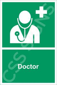 Doctor Safety Sign
