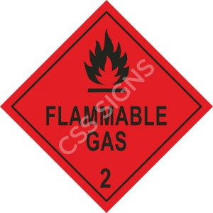 ADR Flammable Gas Label