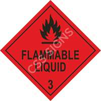 ADR Flammable Label