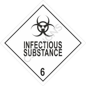 ADR Infectious Substance Label