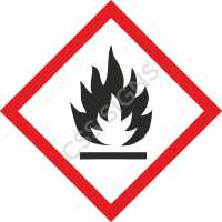 GHS Flammable Label
