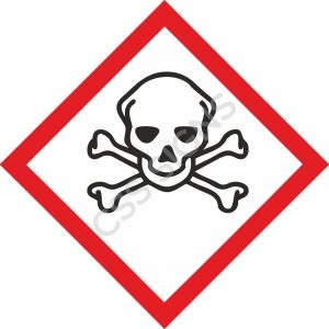 GHS Toxic Label