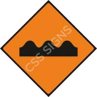 Uneven Surface Safety Sign