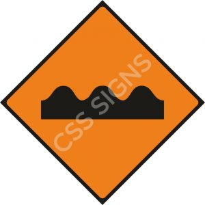 WK071 - Uneven Surface Sign