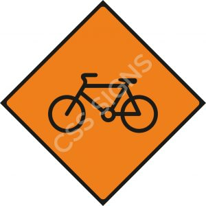 WK086 - Cyclists Sign