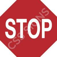 Stop Safety Sign