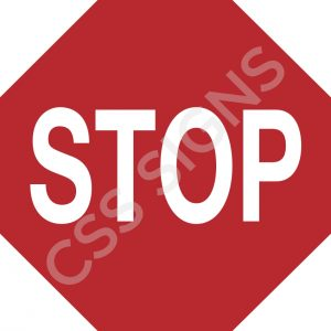 RUS026 - Stop Sign