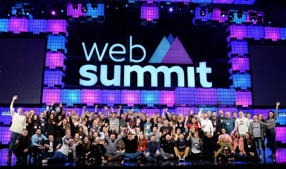 4 November 2015; Web Summit staff during Day 2 of the 2015 Web Summit in the RDS, Dublin, Ireland. Picture credit: Cody Glenn / SPORTSFILE / Web Summit