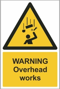 CON011 - Warning, Overhead works