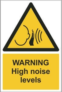CON015 - Warning, High noise levels