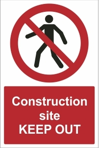 CON019 - Construction site, Keep out