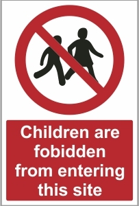 CON021 - Children are forbidden from entering