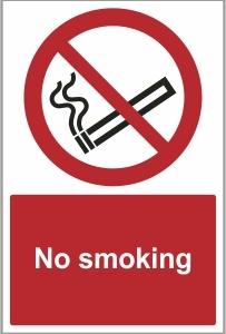 CON023 - No smoking