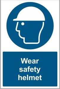 CON026 - Wear safety helmet