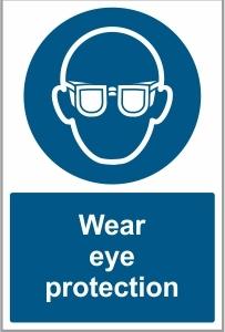 CON031 - Wear eye protection