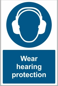 CON032 - Wear hearing protection