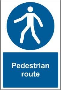 CON033 - Pedestrian route