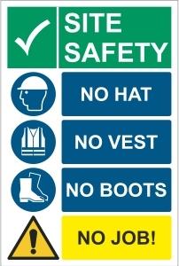 CON041 - Site safety, No job