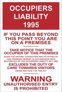 CON043 - Occupiers liability