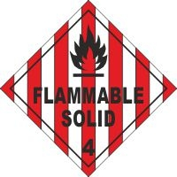 ADR401 - Flammable solid