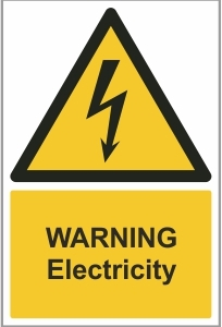 FAC001 - Warning, Electricity