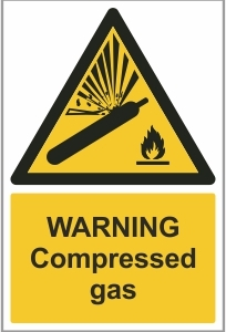 FAC004 - Warning, Compressed gas
