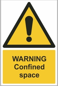 FAC018 - Warning, Confined space