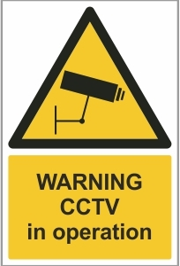 FAC019 - Warning, CCTV in operation