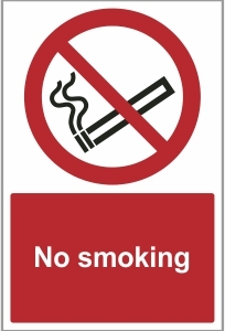 FAC021 - No smoking