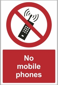 FAC022 - No mobile phones