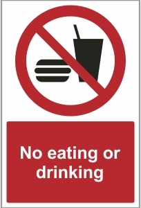 FAC023 - No eating or drinking