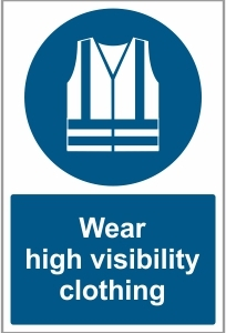 FAC024 - Wear high visibility clothing