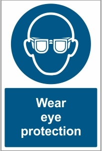 FAC028 - Wear eye protection