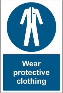 FAC029 - Wear protective clothing