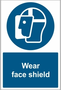 FAC032 - Wear face shield