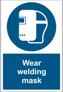 FAC033 - Wear welding mask