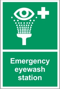 FAC041 - Emergency eyewash station