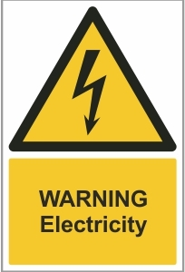 AGR002 - Warning, Electricity