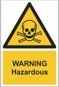 AGR005 - Warning, Hazardous