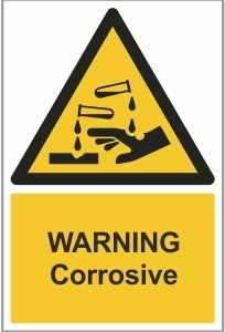 AGR008 - Warning, Corrosive