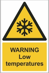 AGR009 - Warning, Low temperatures
