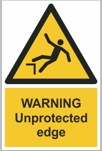 AGR010 - Warning, Unprotected edge