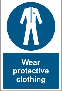 AGR035 - Wear protective clothing
