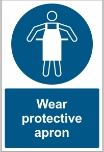 AGR036 - Wear protective apron
