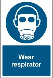 AGR037 - Wear respirator
