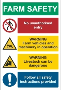 AGR001 - Farm safety notice